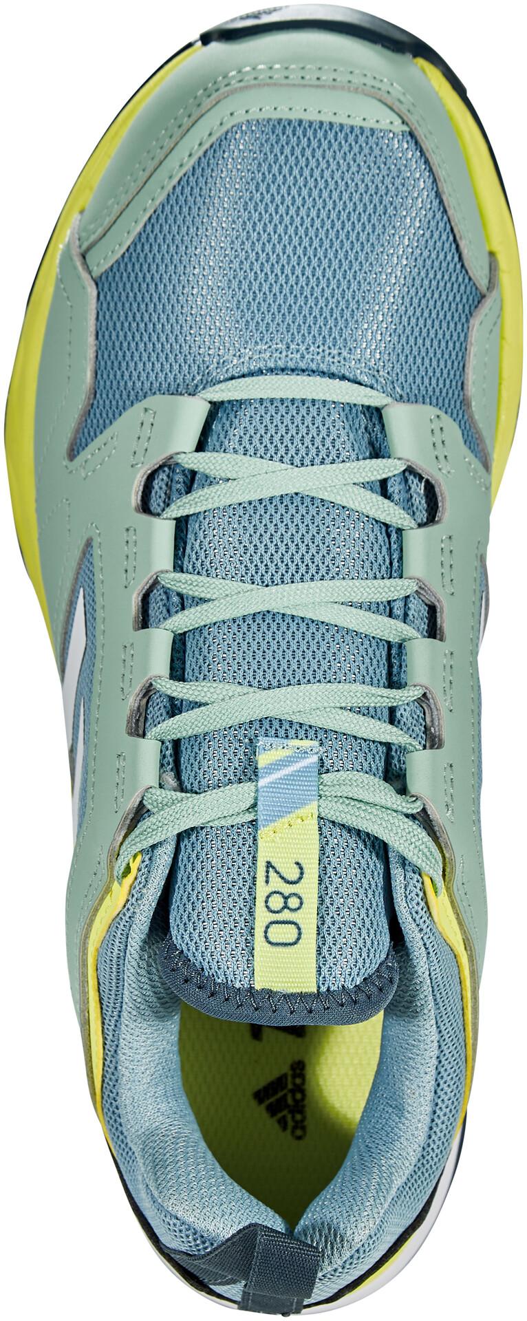 adidas TERREX Agravic TR Scarpe da trail running Donna, ash greyfootwear whiteyellow tint